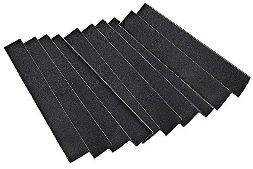 Zona 37-769Stoffrückseite Sand Papier 1breit x 27,9cm lang, 220Körnung, 10er Pack