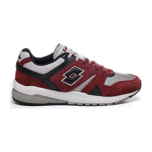 Lotto Leggenda Marathon t7387 Red Black (40 EU)