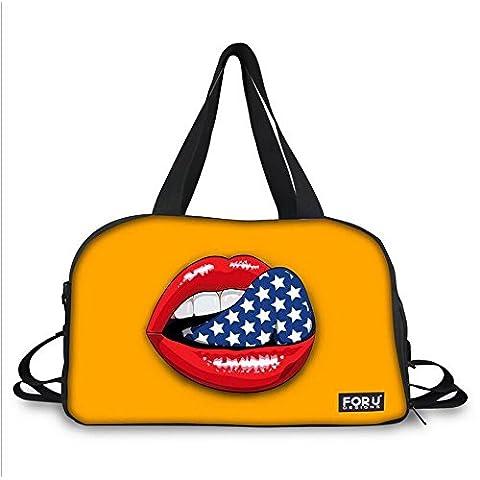 ZY 3D bolsa boutique paisaje multifuncional impresión mamá Bolsa deporte bandolera bolsa de viaje , 11