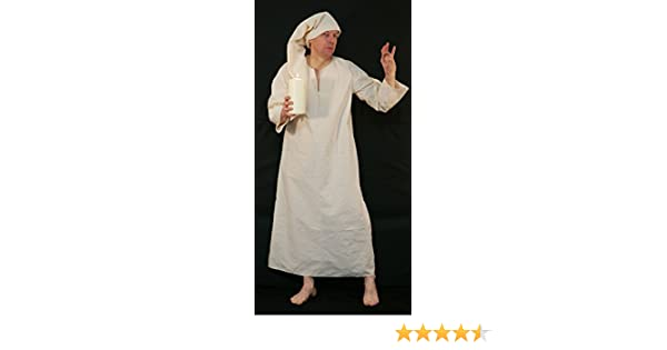 XXXXL LARP-Scrooge-Wee Willie Winkie-Night Shirt /& Cap Fancy Dress All sizes