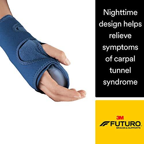 3M Futuro Verstellbare Handgelenk-Bandage für nachts, Schlaf-Unterstützung