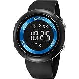 KOLPSY - Digital Black Dial Men's Watch