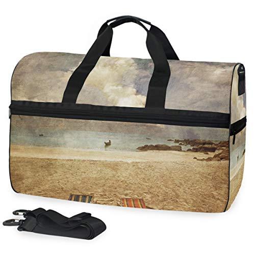 XINGAKA Reisetaschen Carry Duffles,Zwei Sun Strand Stühle