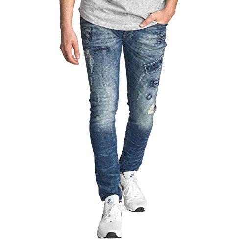 Red Bridge Homme Jeans / Slim TRBC 98 Noir