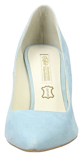Buffalo London 11877-305 Suede, Scarpe con Tacco Donna Blu (Blue396)