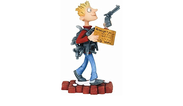 Mike Teavee - The World of Roald Dahl Figurine - by Robert Harrop Designs  RD25: Amazon.co.uk: Office Products