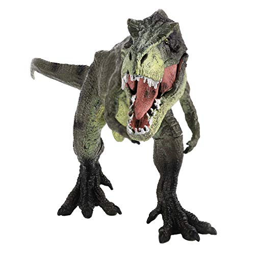 Zooawa Action Figure Tyrannosaurus Rex Dinosaur Toy, Wildlife T-Rex Dinosaur Model Toy Realistic Animal Action Figure Toys for Kids and Toddlers Education - Celadon