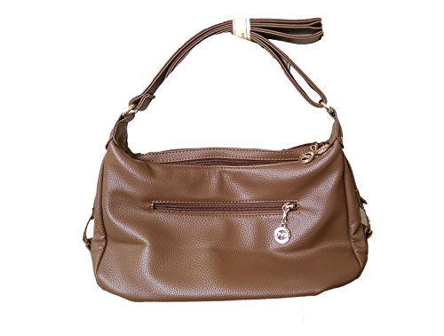 c396d52688be Di grazia brown-pu-sling-bag Italian Genuine Leather Multiple Shoulder-  Price in India