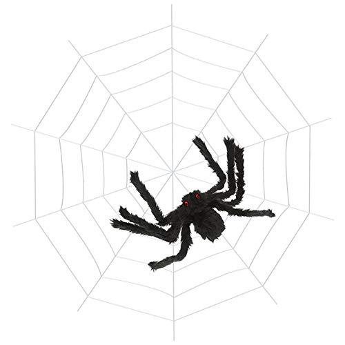 enspinnennetz, Spinnennetz Dekorationen mit Super Stretch Cobweb Set Scary Halloween Outdoor Dekor Yard Dekorationen Requisiten ()