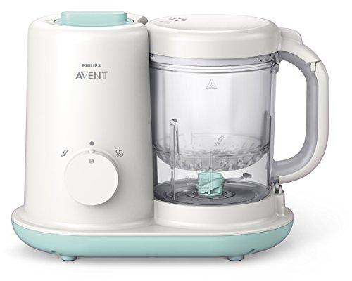 Philips Avent SCF862/02 - Robot de cocina para bebés 2 en 1, color blanco