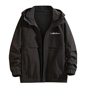 Hoodie Herren Herbst Lässige Mode Reine Farbe Jacke Mehrere Taschen Outwear Schwarzer Mantel Mantel