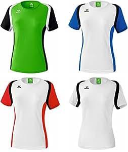 Erima Razor T-Shirt Damen Shirt Sport Fitness Running Jogging, Grösse:34;Farben:Grün