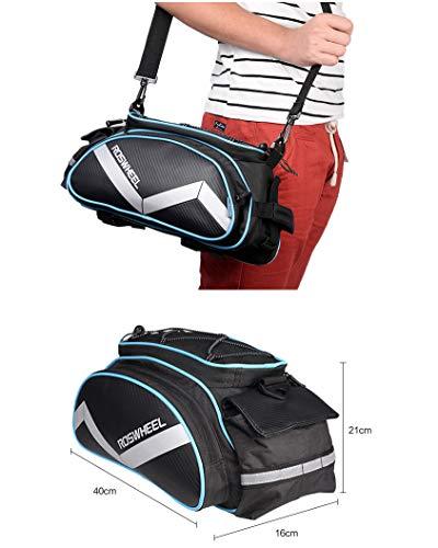 Roswheel multifunktions Gepäckträgertasche - 5