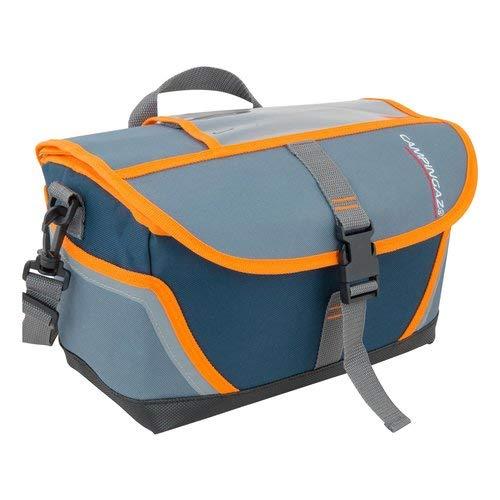 Campingaz Fahrrad Kühltasche Tropic 9L, Isoliertasche mit Schulterriemen, kühlt bis zu 10 Std, faltbare Lenkertasche zum Einkaufen, Camping oder als Picknicktasche