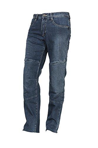 Jeans da moto E Squad modello Milo Gris Huile grigi
