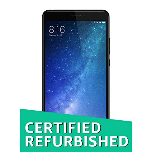 (Certified REFURBISHED) Mi Max 2 (Black, 64GB)