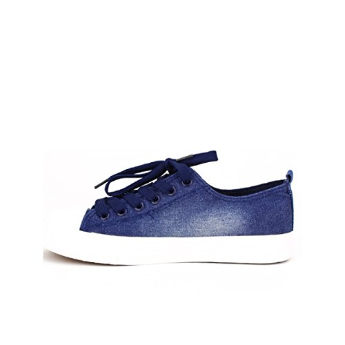 Ftp Blue Basket Scarpe Donna Jeans Blu Distintivi Cendriyon IqOwUBw