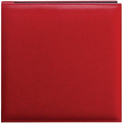 Pioneer 30,5cm von 30,5cm Snapload genäht Kunstleder Speicher Buch, rot (Archivierung Foto-speicher)