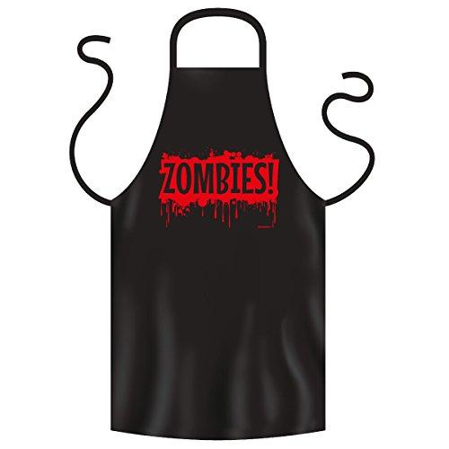 Gruselige Halloween Fun Koch/Grillschürze: Zombies Blood (Zombie Koch Kostüm)