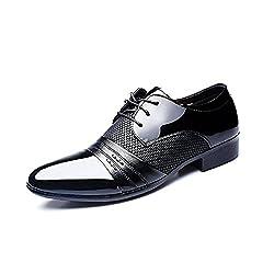 Zapatos Oxford Hombre Cuero...