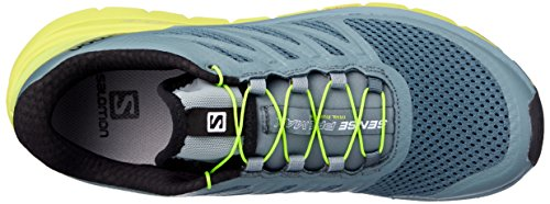 Salomon Sense Pro Max, Chaussures de Trail Homme, Bleu green
