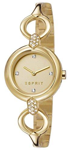 Esprit - ES107332003 - Montre Femme - Quartz Analogique - Cadran Doré - Bracelet Acier inoxydable Doré