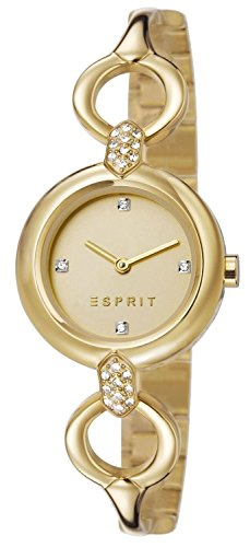 Esprit Damen-Armbanduhr Naomi Analog Quarz Edelstahl ES107332003