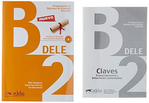 Pack DELE B2 (libro + claves) (Preparación Al Dele - Jóvenes Y Adultos - Preparación Al Dele - Nivel B2) por Pilar Alzugaray Zaragüeta