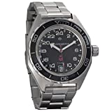 Vostok Komandirskie - Wristwatch with Russian Military Sphere (automatic, 24 Hours, 200 m, 650541)