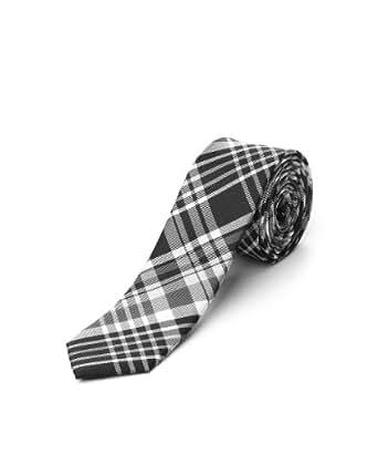 ESPRIT Collection Herren Krawatte 014EO2Q008, Gr. one size, Schwarz (001 BLACK)