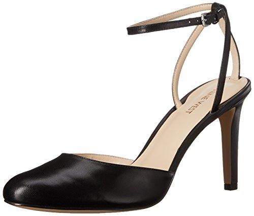 Nine West Honsity Leather Pump Dress Leather Black