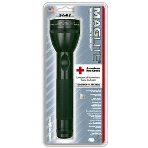 Mag-Lite 2C-Cell Stab-Taschenlampe 22,5 cm titan-grau für 2 Babyzell-Batterien S2C096