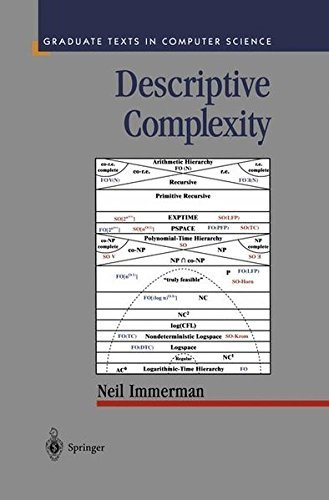 Descriptive Complexity (Texts in Computer Science) by Neil Immerman (1998-11-20)