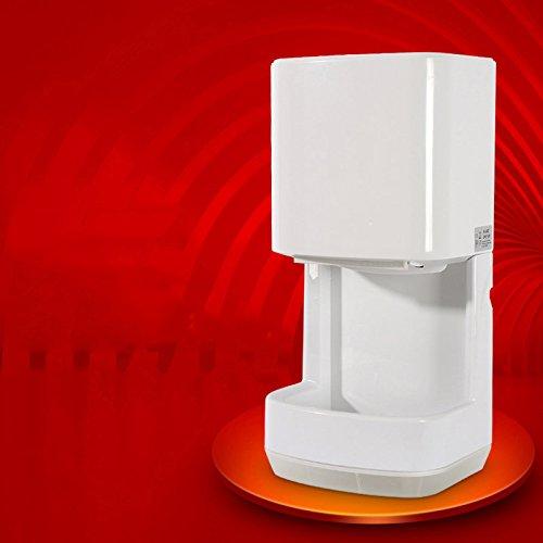 Sèche-mains automatique à grande vitesse,Sécheuses Capteur automatique Air chaud rapide Toilettes Souffler le téléphone-A