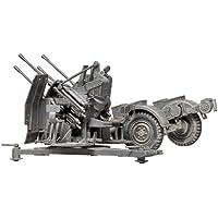 Tamiya - 35091 - Maquettes - German 20 mm Flakvierling 38 MITSd.Ah.52 - echelle 1/35