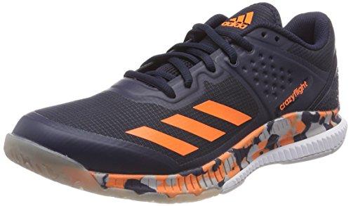adidas Herren Crazyflight Bounce Volleyballschuhe, Blau (Tinley/Naalre/Gridos 000), 48 2/3 EU (Adidas Herren Volleyball Schuhe)