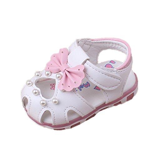Baby Schuhe Auxma Baby Mädchen Sonnenblume Sandalen beleuchtete Soft-Soled Prinzessin Schuhe (6-12 M, XX) 6m Schuhe