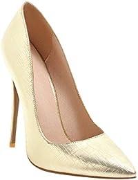 Amazon.it  47 - Scarpe col tacco   Scarpe da donna  Scarpe e borse 1afb30c78e4