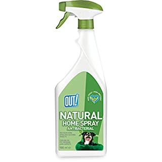 OUT! Natural Home Antibacterial Spray, 500 ml