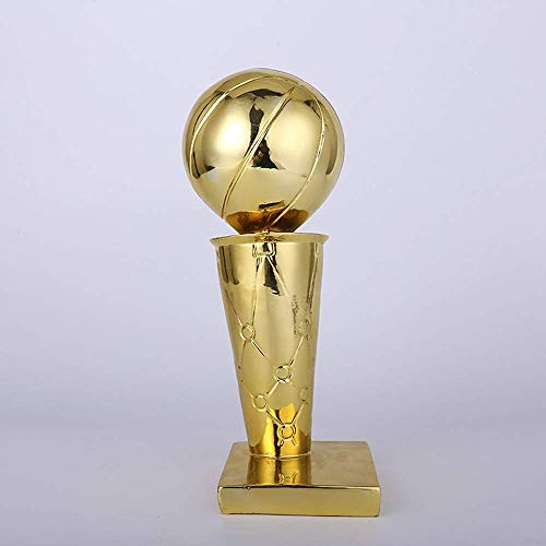 Kanadische Raptors NBA Champions Trophy Beschichtung Golden Globe Award Trophy NBA Championship Trophy, Replik, Harz, Basketball Trophy, Basketball Fan Geschenke,11.8in -