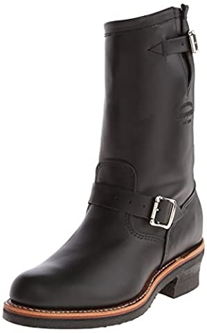 Original Chippewa Collection Men's 1901M48 11 Inch Engineer Boot, Black