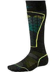 Smartwool PHD Chaussettes de Ski légères Men's Motif chaussettes de Ski-Gris/vert