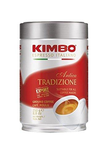 Kimbo Espresso - EXPORT - Antica Tradizione 250g gemahlen Schmuckdose