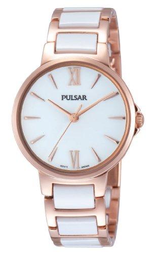 Pulsar Damen-Armbanduhr XS Modern Analog Quarz Keramik PH8078X1