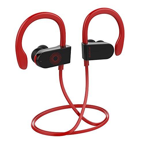 dodocool Cuffie Bluetooth Wireless Senza Fili Sport, Cuffie da Corsa Senza Fili Auricolari Bluetooth Stereo in Ear Senza Fili per Cellulare MP3 con Cancellazione Vocale Supporto Siri Google Assistant