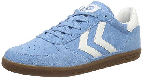 hummel Unisex-Erwachsene Victory Low-Top, Blau (Heritage Blue), 45 EU