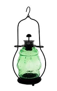 Achla Designs fer et verre Lanterne, Vert fougère, 5–1/5,1cm de diamètre