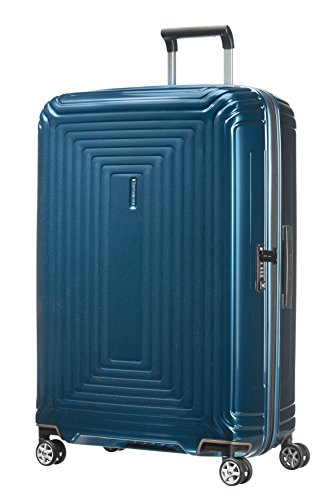 Samsonite Neopulse Spinner Suitcase, 75 cm, 94 L, Blau (Metallic Blue)