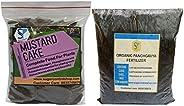 Shiviproducts 935 g Mustard Cake and 20 g Organic Panchgavya Fertilizer -Set of 2