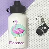 tigerlilyprints Wasser Flaschen, Personalisierbar Getränke Flasche, Flamingo Flasche, Mädchen Geschenke, Schule Wasser Flasche, Lunchtasche Flaschen.